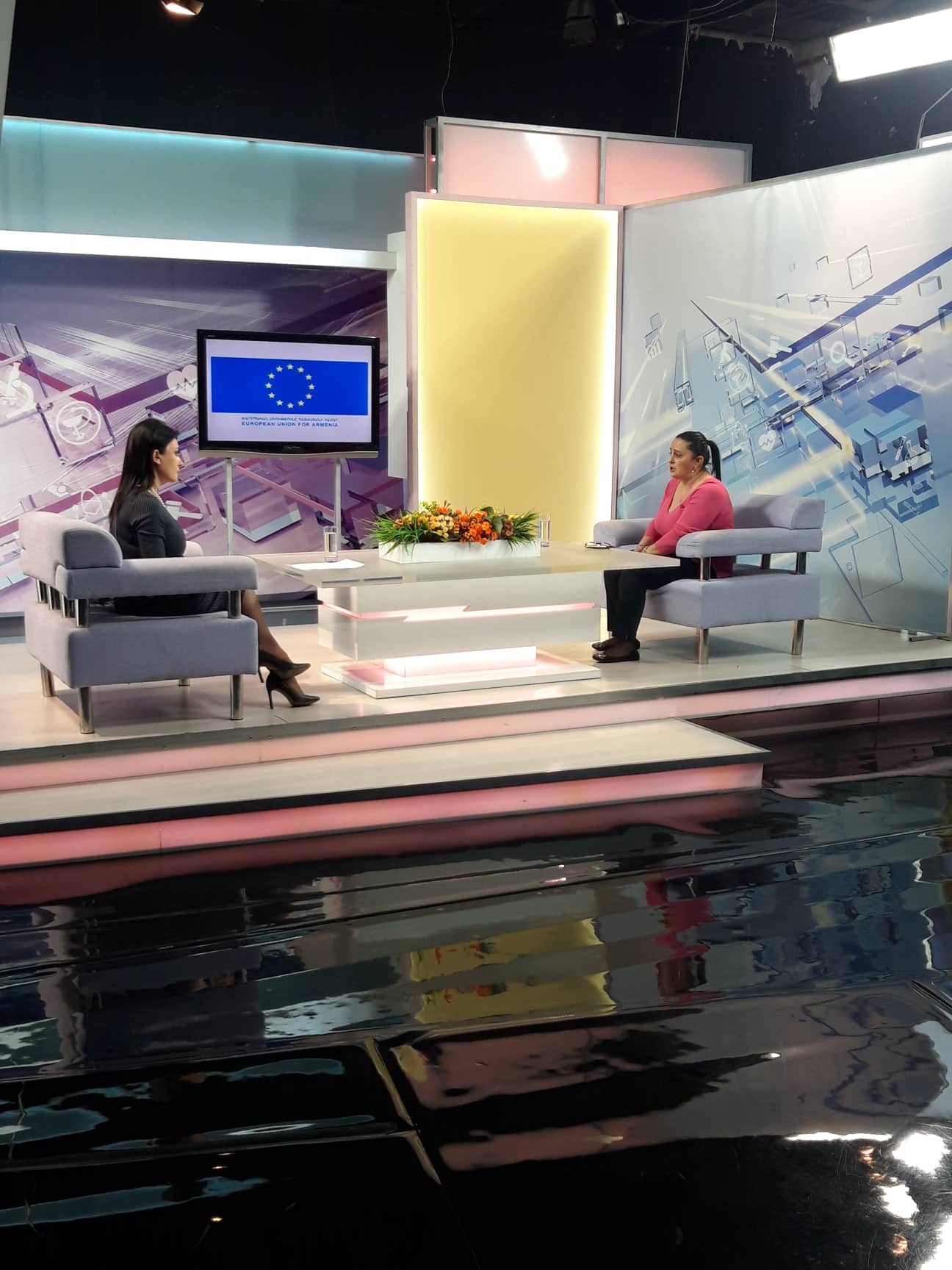"The guest of ""Talks about women's rights"" TV program was Liana Sargsyan, the Program Manager of ""Myradoon"" of ""Lighthouse"" Charitable Foundation"