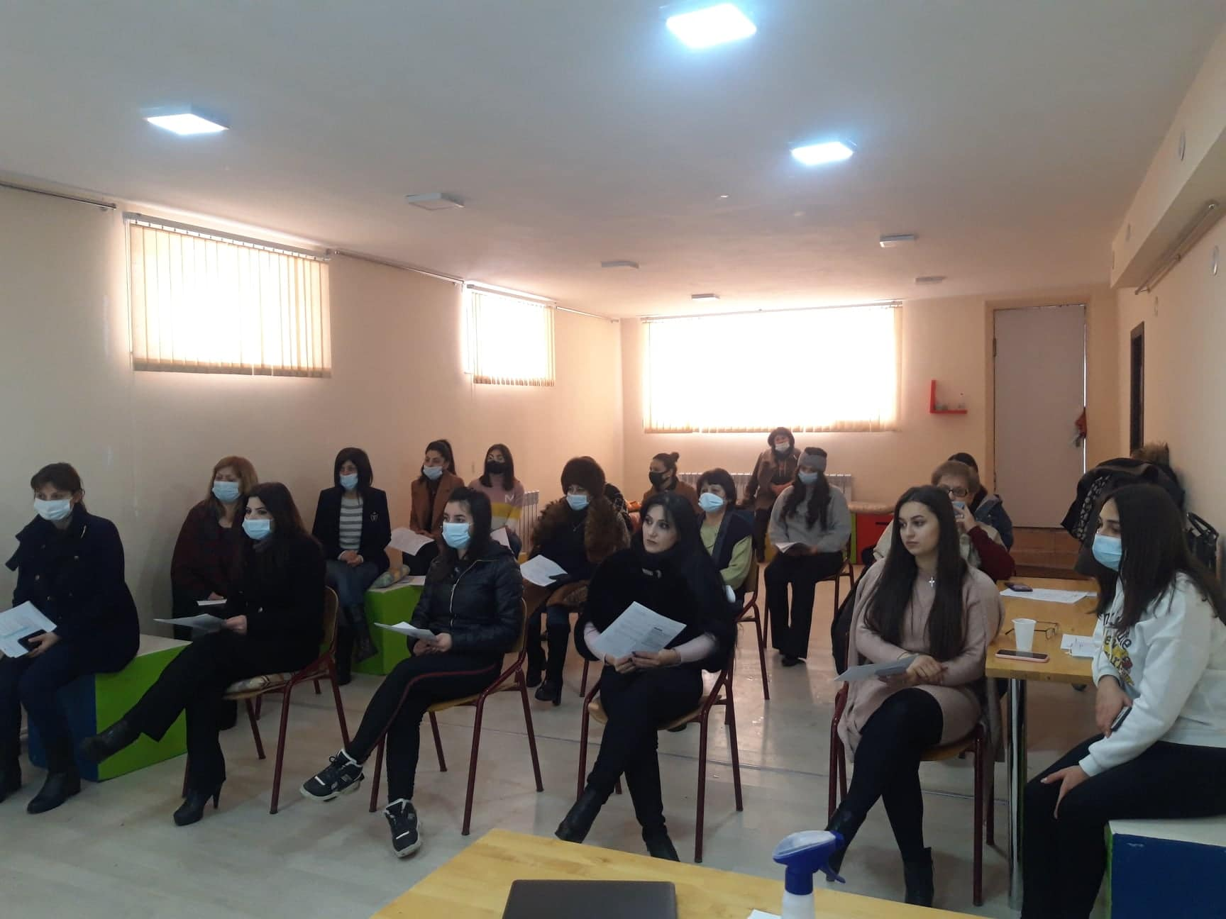 Training in Gyumri on Domestic Violence Issue was organized