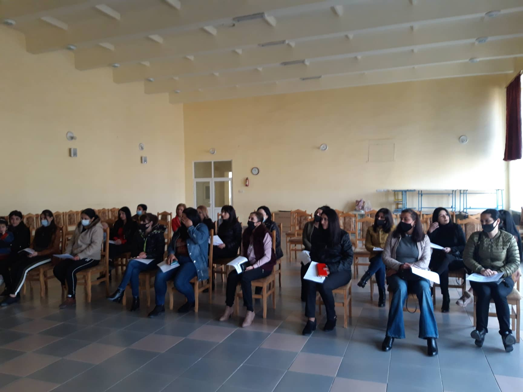 Training in Ijevan on Domestic Violence Issue was organized