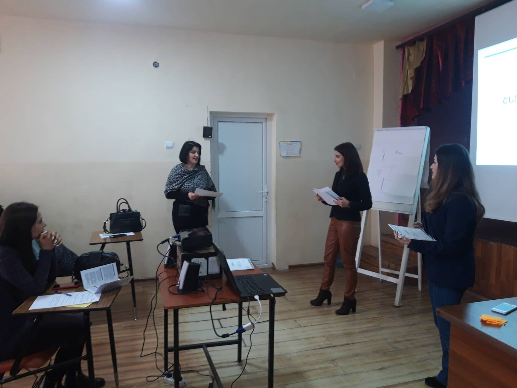 Training in Vanadzor on Domestic Violence Issue was organized